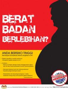 H1N1:Cegah H1N1 - Berat badan berlebihan? (BM)