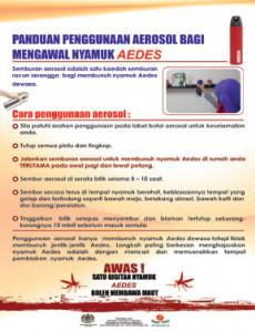 Denggi:Penggunaan Aerosol