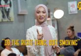 Speak Out : Do The Right Thing, Quit Smoking