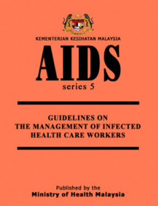 Guideline On The Management Of Infected Health Care Worker
