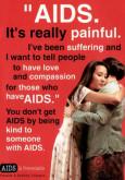 AIDS: Saya menderita kerana AIDS (B. Inggeris)