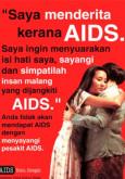 AIDS: Saya menderita kerana AIDS (B. Malaysia)
