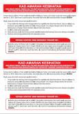 Kad Amaran Kesihatan Bagi Jemaah Haji Yang Dijangkiti Penyakit MERS-CoV (BM)
