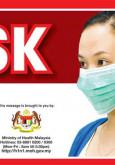 H1N1:Cegah H1N1 - Pakai Topeng Mulut Dan Hidung (BI)