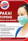 H1N1:Cegah H1N1 - Pakai Topeng Mulut Dan Hidung (BM)