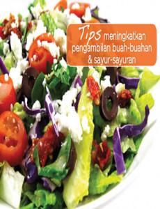Tips Meningkatkan Pengambilan Buah-Buahan & Sayur-Sayuran - Flipchart