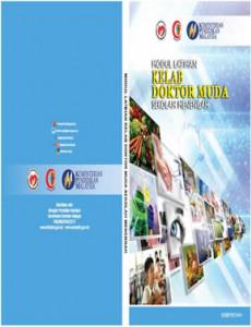 Doktor Muda: Buku Modul Latihan Kelab Doktor Muda Sekolah Menengah (Muka Hadapan)