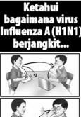 H1N1:Bersama Hentikan H1N1 - Ketahui Bagaimana Virus H1N1 Berjangkit
