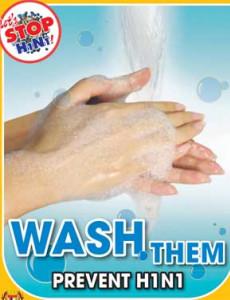 H1N1:Cegah H1N1 - Kerap Cuci Tangan (BI)