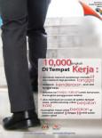 Fizikal:10,000 Langkah Di Tempat Kerja