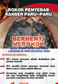 Merokok penyebab kanser paru-paru (BM)