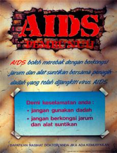 Aids Pembunuh (2)(B. Inggeris)