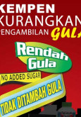 Gula:Pilih Produk Rendah Gula Atau Bebas Gula