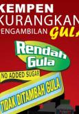 Gula:Kempen Kurangkan Pengambilan Gula