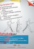 Fizikal:10,000 Langkah Sehari - Tips Berjalan Kaki