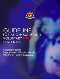 Panduan Ujian Saringan HIV Secara Sukarela Tanpa Nama (BI)
