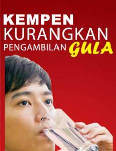 Gula:Minum Air Kosong 6-8 Gelas Sehari