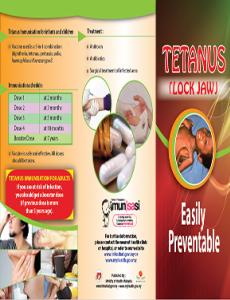 Imunisasi: Tetanus(Lock Jaw)-B.Inggeris (Depan)