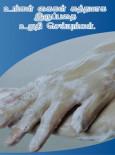 Pandemik Influenza : Pastikan tangan anda bersih (Tamil)