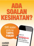 MyHEALTH : MySMS Tanya Pakar