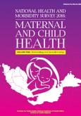 National Health and Morbidity Survey 2016 - Volume 1