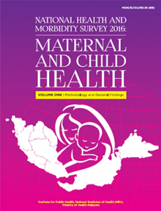 National Health and Morbidity Survey 2016 - Volume 1