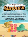 Tips Elak Sunburn