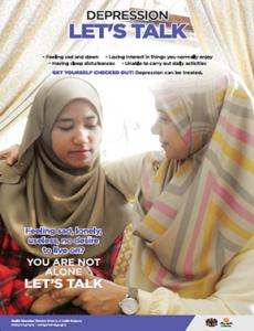 Hari Kesihatan Sedunia :Kemurungan Mari Bincang (BI)