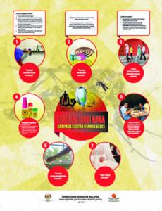 Denggi:Lindungi Diri Anda daripada Gigitan Nyamuk Aedes
