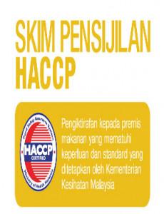 BKKM: Skim Pensijilan HACCP