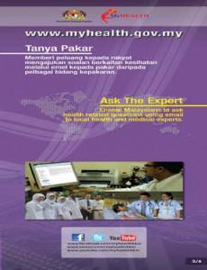 Portal MyHEALTH - Tanya Pakar