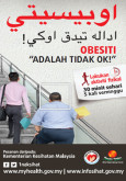 Obesiti - FA Billboard (40ft x 10ft) - JAWI