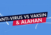 Anti-Virus VS Vaksin & Alahan