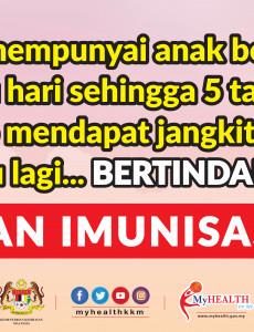 Dapatkan Imunisasi Polio