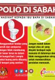 Polio di Sabah - Nasihat Kepada Ibubapa
