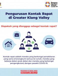 Pengurusan Kontak Rapat di Greater Klang Valley -1