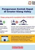 Pengurusan Kontak Rapat di Greater Klang Valley -3