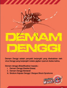 Denggi:Pameran Demam Denggi 1