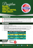 BKKM - Pensijilan Hazard Analysis Critical Control Point (HACCP)