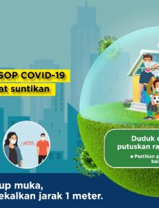 Ingat Kita Masih Perlu Patuhi SOP COVID-19