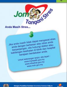 Stres:Pameran Kit Jom Tangani Stres 17