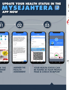 Update Your Health Status In The MySejahtera App Now