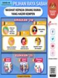 Pilihan Raya Sabah : Nasihat Kepada Orang Ramai Yang Hadir Kempen