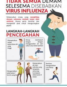 Tidak Semua Demam Selsema Disebabkan Virus Influenza