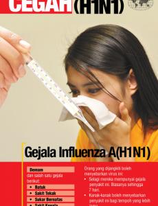 Influenza A:Pameran Cegah Influenza A (H1N1) 2
