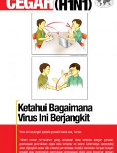 Influenza A:Pameran Cegah Influenza A (H1N1) 3