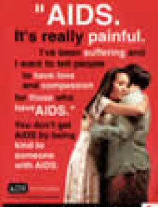 AIDS. It's really painful (English)