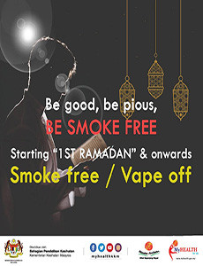 Ramadan - Smoke Free and Vape Off