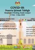 COVID-19 : Peserta Ijtimak Tabligh