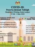 COVID-19 : Peserta Ijtimak Tabligh